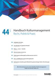 Handbuch Kulturmanagement